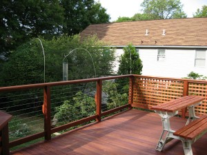 Custom Deck Ideas Adding Bird Feeders And Landscaping
